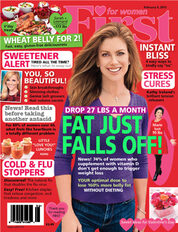 The Probiotic Promise is featured in First for Women magazine