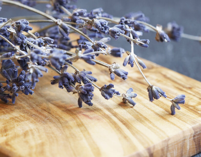 Lavender helps keep bugs at bay while supporting healthy moods.