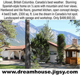 dream home for sale British Columbia Canada