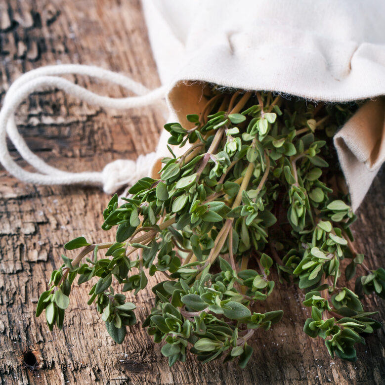 Thyme essential oil has been shown in research to help lyme disease.